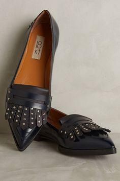 374405e0b Della Pia Studded Kiltie Loafers