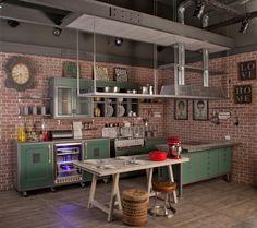 Se você está pensando em renovar a cozinha temos boas notícias. Até o fim de dezembro a @marchicucinebrasil oferece desconto de 40% à vista e 30% em compra parcelada no modelo de cozinha LOFT. Além da cor verde você pode escolher entre as cores off-white amarela e azul. Aproveite! #cozinha #kitchen #cucine #décor #decoração #decoraçãoétododia #decoration #arquitetura #desconto by casaejardim