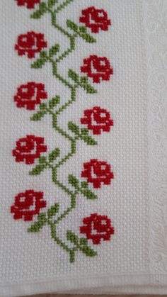 Thrilling Designing Your Own Cross Stitch Embroidery Patterns Ideas. Exhilarating Designing Your Own Cross Stitch Embroidery Patterns Ideas. Cross Stitch Boarders, Mini Cross Stitch, Cross Stitch Rose, Cross Stitch Flowers, Cross Stitch Designs, Cross Stitching, Cross Stitch Embroidery, Hand Embroidery, Cross Stitch Patterns