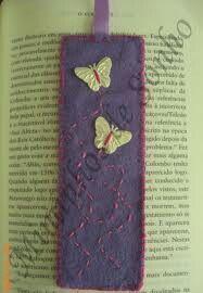 Marcador quadrado lilás