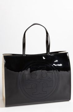 Tory Burch 'Large' Perforated Logo Tote available at #Nordstrom