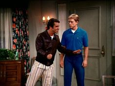 The Fonz tries to get his cool in to shape after knee surgery.