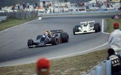 Watkins Glen F1 1978 -- Wolf WR5 #21, Bobby Rahal - Williams FW06 #27 ...