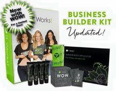 At 9 am this builders kit goes on sales; but only till the 29th.  The difference in this one is you get a whole box of WOW (Wipe Out Wrinkles).  This is a HUGE Deal!!!! Everything seen here included and more!!! Sign up NOW as a distributor to get this deal, before we sell out!!