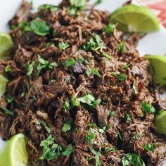 """7,772 Likes, 47 Comments - Meal Plan (@healthyfoodadvice) on Instagram: """"Barbacoa Tacos  Made by @closetcooking  Prep Time: 10 minutes  Cook Time: 4 hours Total  Time: 4…"""""""