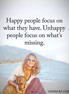 Well Said Quote About Happy vs.Unhappy
