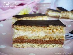 Gabriella kalandjai a konyhában :): Kedvenc szelet - Világ finomja