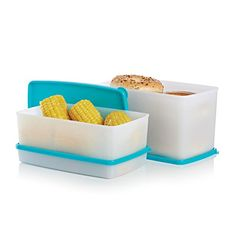 Freeze-It Medium Set $39.00 ** Flexible containers make it easy to remove frozen food. Stackable design makes freezer organizing a snap.  Includes 2½-cup/600 mL Medium Shallow Rectangular & 5-cup/1.3 L Medium Rectangular and 3-qt./2.8 L Medium Deep Rectangular containers
