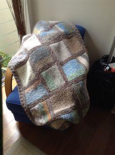 Afghan, blanket, rug, knitted