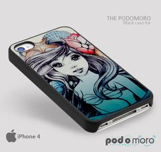 Ariel Little Mermaid Tattoo for iPhone 4/4S, iPhone 5/5S, iPhone 5c, iPhone 6, iPhone 6 Plus, iPod 4, iPod 5, Samsung Galaxy S3, Galaxy S4, Galaxy S5, Galaxy S6, Samsung Galaxy Note 3, Galaxy Note 4, Phone Case