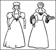 1547-1553 Gown Collars of 1550