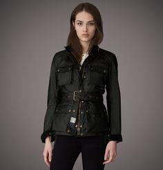 Jacket | Womens Signature Waxed Cotton Roadmaster Jacket | Belstaff