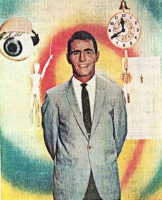 Rod Serling, primary author of               The Twilight Zone and Night Gallery