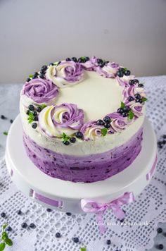 Food Cakes, Pavlova, Vanilla Cake, Cake Recipes, Food And Drink, Birthday Cake, Gluten Free, Keto, Baking