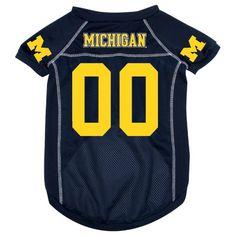 Michigan Wolverines NCAA Mesh Pet Jersey « Ever Lasting Game