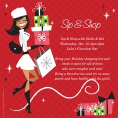 Scentsy Party Invitation Template Unique Sip & Shop Sip & Shop with Stella & Dot Holiday Invite Holiday Invitations, Party Invitations, Invitation Templates, Invite, Stella Dot, Thirty One Business, Holiday Boutique, Mary Kay Cosmetics, Thirty One Gifts