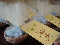 bird favors for parties | Do-It-Yourself Wedding Favors Featured On SMPs DIY Week | Style Me ...