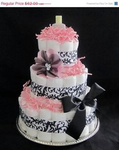 I love the diaper cakes...
