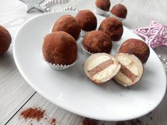 Marcipánové brambůrky Christmas Sweets, Christmas Candy, Christmas Cookies, A Food, Food And Drink, Mini Cakes, Sweet Tooth, Cheesecake, Muffin