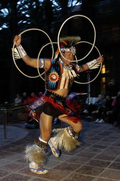Hoop dancer. There is a yearly contest at the Heard Museum. A must see.