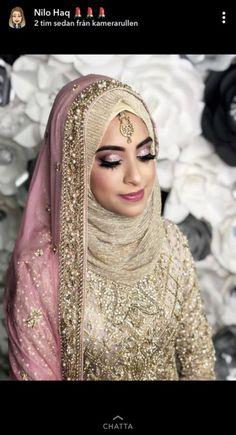 69 Ideas Bridal Hijab Turban Wedding Dresses For 2019 - MyStyles Hijabi Wedding, Muslimah Wedding Dress, Pakistani Wedding Outfits, Muslim Brides, Pakistani Bridal Dresses, Pakistani Wedding Dresses, Bridal Outfits, Muslim Couples, Wedding Abaya