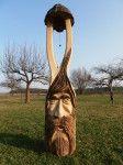 Zvonička, materiál dub, orientační cena 12.000,-Kč Outdoor Decor