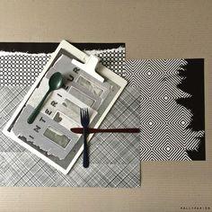 Paper placemats - sets de table en papier - POLLYPAPIER