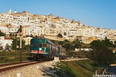 Arriving in Minervino Murge...with train!