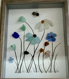 , Glass Art Diy Vogelbäder Reference: 8473003833 - If I ever . , Glass Art Diy Bird Baths Reference: 8473003833 - If I want to tinker . Sea Glass Mosaic, Sea Glass Art, Stained Glass Art, Fused Glass, Glass Beach, L'art Du Vitrail, Art Pierre, Glass Art Pictures, Broken Glass Art