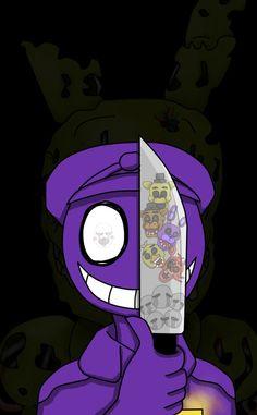 Five Night At Freddy's Purple Guy