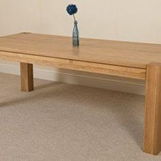Kuba-Chunky-Solid-Oak-220-cm-Dining-Table-0