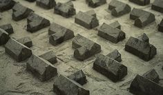 Master Plan: Chad Wright creates sandcastle suburbia. Photo by Lynn Kloythanomsup of Architectural Black