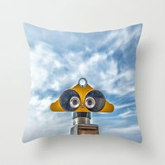 Look into my eyes Throw Pillow by Richard Marks Photography - $20.00