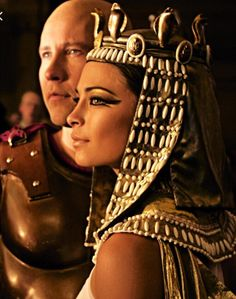 Kristen Kreuk of Smallville as Cleopatra.