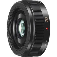 Panasonic LUMIX G 20mm f/1.7 II ASPH. Lens (Black) H-H020AK B&H | B&H Photo Video