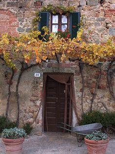 Monteriggioni, Siena, Tuscany, Italy