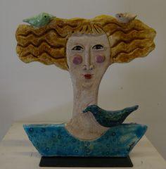 Scultura in ceramica di Speranza Neri #sculture in ceramica #ceramica #scultura #arte #argilla #arredamento #sculpture #artists #ceramicaartistica