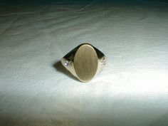 vargas rings signet ring vintage crystal by qualityvintagejewels