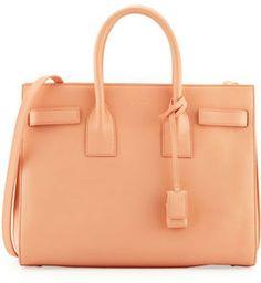 Saint Laurent Sac de Jour Carryall Bag, Blush on shopstyle.com