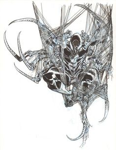 http://www.ebay.com/itm/Iron-Spider-Man-Commission-art-by-Eric-Canete-/361506200883?hash=item542b72dd33:g:lZwAAOSwG-1WzONd