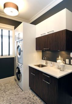 I'd love to redo our basement laundry room and add a powder room or even a full bath there.