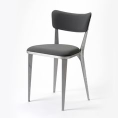 1945. The BA3 was Ernest Race's first design for the new company. Wood was scarce at this time and the British Government encouraged manufacturers to use new materials that were more available – like aluminium – which was plentiful due to the decommissioning of weapons and aircraft. One of the first massproduced, cast aluminium chairs in the world, over 250,000 were made. It won a Gold Medal at the Milan Triennale of 1954.