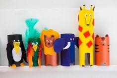 animales de la selva manualidades - Buscar con Google