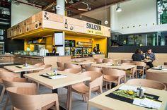 TJ ARCHITEKTI | Interiér Sklizeno Food Lovers Campus Square