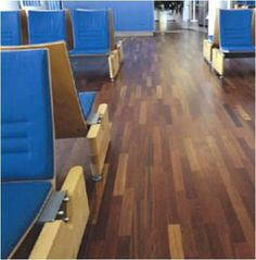Polyx Oil Lied To The Flooring Of Departure Lounge At Bergen Airport Norway