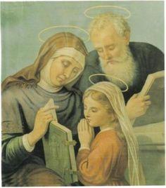 Memorare a Santa Ana: Blessed Mother Mary, Blessed Virgin Mary, Catholic Prayers, Catholic Saints, Saint Joachim, St Maria, Mama Mary, Santa Ana, Sainte Marie