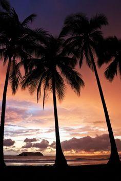 Beautiful sunset in Manuel Antonio  - Costa Rica!