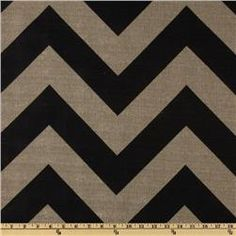 "Premier Prints' Zippy in Stone Black/Denton \\ $13 per yard \\ 54"" wide Home Dec"