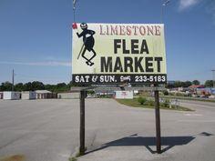 2. Limestone County Flea Market - Madison, AL