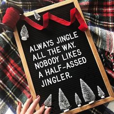 "Still working away on orders AND we have lots of new goodies coming your way for our last 2 shows of the year @torontoetsystreet and @makeologyca this Sat and Sun in Toronto. Just like the letter board says: ""Nobody likes a half assed Jingler"" so we will be bringing you thoughtfully made heartfelt gifts all the way to the end of our season. As of the 18th we are closed for the remainder of the year so if you missed out @ooak_toronto make sure to stop by this weekend. Until then…"